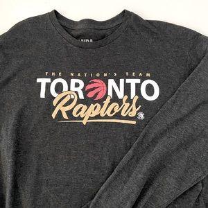 NBA Men's Toronto Raptors Long Sleeve Shirt (XL)